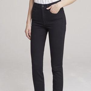NWT 3x1 Channel Seam Skinny High Rise Jean